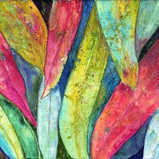 Art: Eucalyptus Leaves by Artist Ulrike 'Ricky' Martin