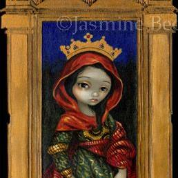 Art: Saint Catherine by Artist Jasmine Ann Becket-Griffith