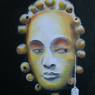 Art: Mask For Sale-Unavailable by Artist Sherry Key