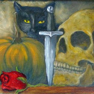 Art: Sugarcoffin's Still Life by Artist Tracey Allyn Greene