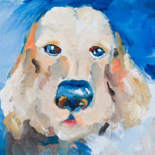 Art: Blue Nose Dog by Artist Delilah Smith