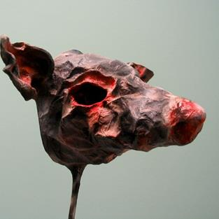 Art: Rat Face Mask by Artist Patience