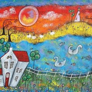 Art: A Whimsical View by Artist Juli Cady Ryan