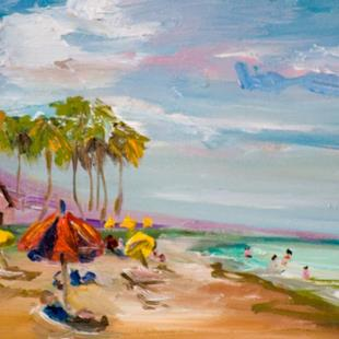 Art: Florida Beach by Artist Delilah Smith