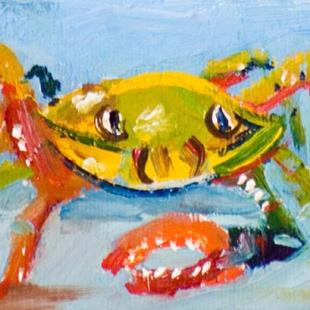 Art: Crabby Billies Aceo by Artist Delilah Smith