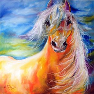 Art: BRIGHT DAY EQUINE by Artist Marcia Baldwin