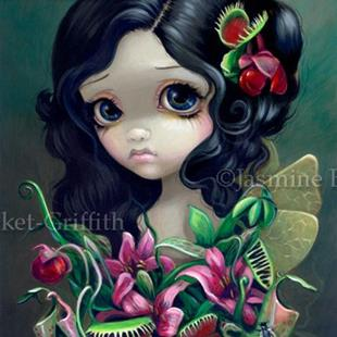 Art: Carnivorous Bouquet Fairy by Artist Jasmine Ann Becket-Griffith