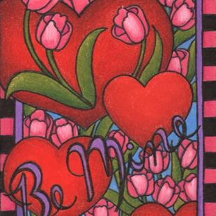Art: Be Mine (sold) by Artist Shelly Bedsaul