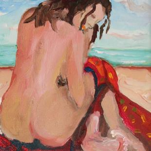 Art: Beach Diva No5 by Artist Delilah Smith