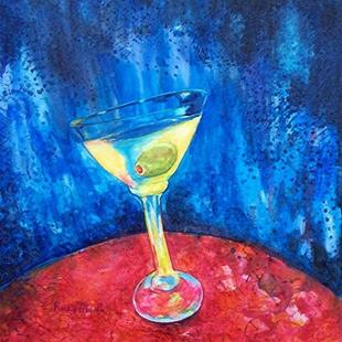 Art: Cocktail Hour by Artist Ulrike 'Ricky' Martin