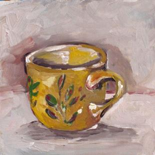 Art: Coffee Cup by Artist Delilah Smith