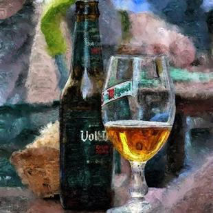 Art: Beer here! by Artist Deanne Flouton