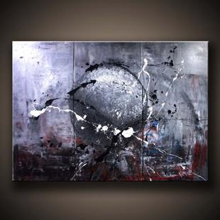 Art: abstract space painting by Artist Peter D.