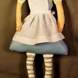 Art: Alice in Wonderland by Artist Catherine Darling Hostetter
