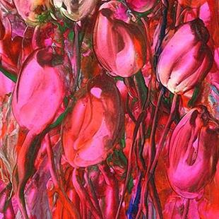 Art: Undulating Tulips by Artist Ulrike 'Ricky' Martin