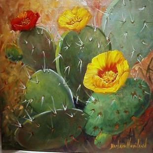 Art: Cacti   SOLD by Artist Barbara Haviland
