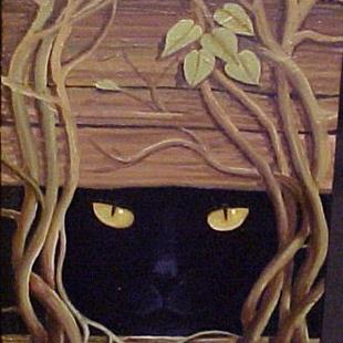 Art: HIDE & SEEK by Artist Rosemary Margaret Daunis