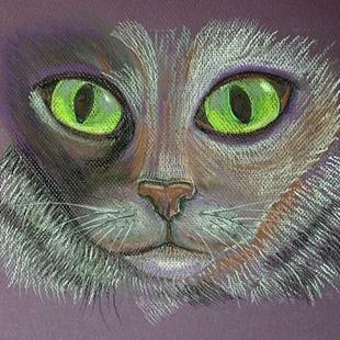 Art: Green Eyed Envy by Artist Sherry Key