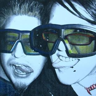 Art: WE SAW AVATAR IN 3-D by Artist Sherry Key
