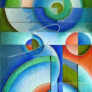 Art: Abstract Harmony by Artist Alma Lee