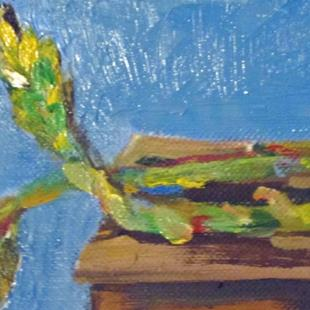 Art: Asparagus Aceo No.2-sold by Artist Delilah Smith