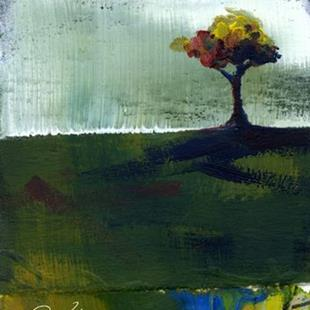 Art: Tree #2 ACEO by Artist Kathy Morton Stanion