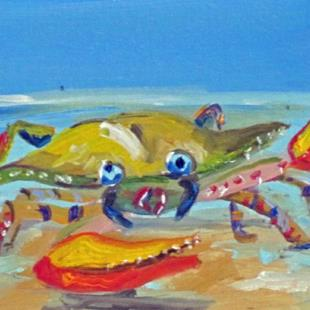 Art: Crabby Billie No.2 by Artist Delilah Smith