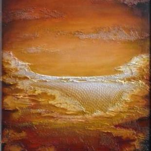Art: ORIGINAL ABSTRACT LANDSCAPE PAINTING , MODERN ART - SOLD by Artist Nataera