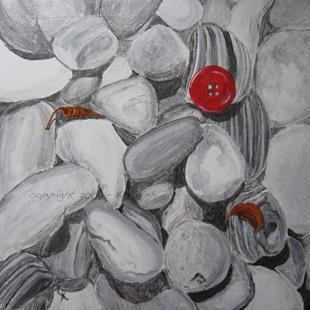 Art: Lost and Found: Red by Artist Kathleen Ralph