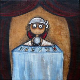 Art: Fortune Teller by Artist Charlene Murray Zatloukal
