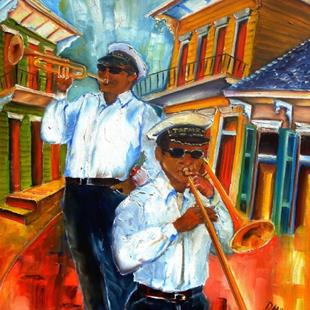 Art: The Musicians of Treme by Artist Diane Millsap