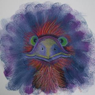 Art: Emu Mote by Artist Sherry Key