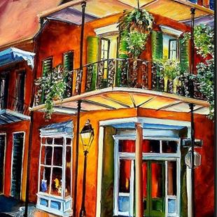 Art: Goodnight New Orleans SOLD by Artist Diane Millsap