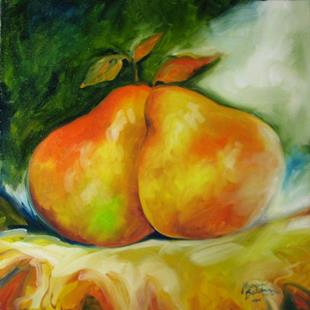 Art: PEAR'D for LIFE by Artist Marcia Baldwin