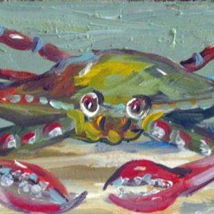 Art: Crabby Billie No. 3 by Artist Delilah Smith