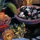 Art: Still Life with Moon Shells by Artist Margaret Crowley-Kiggins