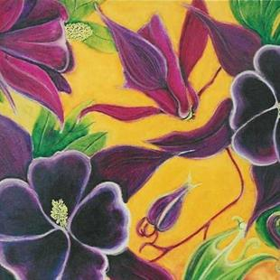 Art: SOLD - Columbine by Artist Shawn Marie Hardy