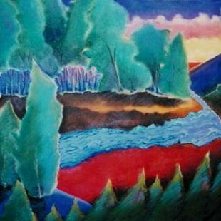 Art: NFS - The Clearing - an Emily Carr vision by Artist Shawn Marie Hardy