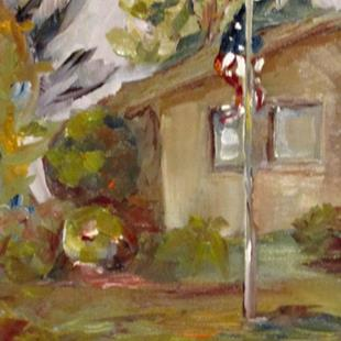 Art: American 4th of July-SOLD by Artist Delilah Smith