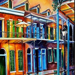 Art: Life After Dark - SOLD by Artist Diane Millsap