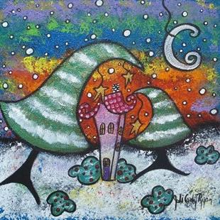 Art: Happy, Little Winter by Artist Juli Cady Ryan