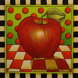 Art: Be Bop A Lula Apple by Artist Shelly Bedsaul