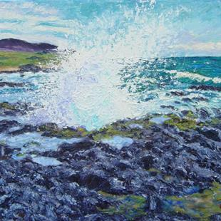 Art: Splash - Hawaii series #1 by Artist Tracey Allyn Greene