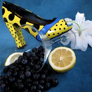 Art: Shoeberries by Artist Carissa M Martos