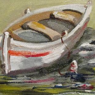 Art: Dinghy by Artist Delilah Smith
