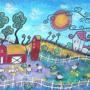 Art: The Fanciful Farm by Artist Juli Cady Ryan