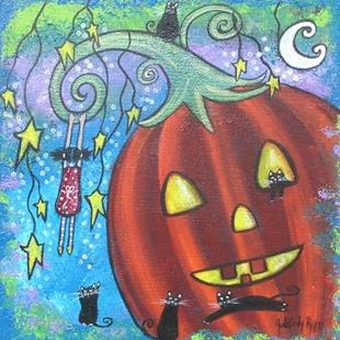 Art: Halloween Dream by Artist Juli Cady Ryan