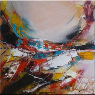 Art: ORIGINAL abstract PAINTING,acrylic on canvas      -     SOLD by Artist Nataera