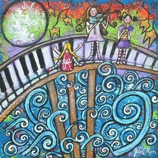 Art: In The Magical Land Of Music by Artist Juli Cady Ryan
