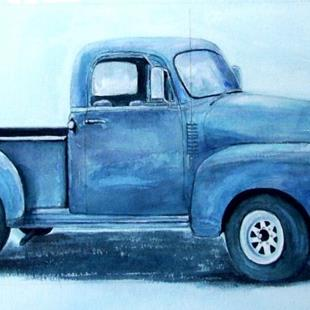 Art: Dad's  Old Truck - NFS by Artist Ulrike 'Ricky' Martin